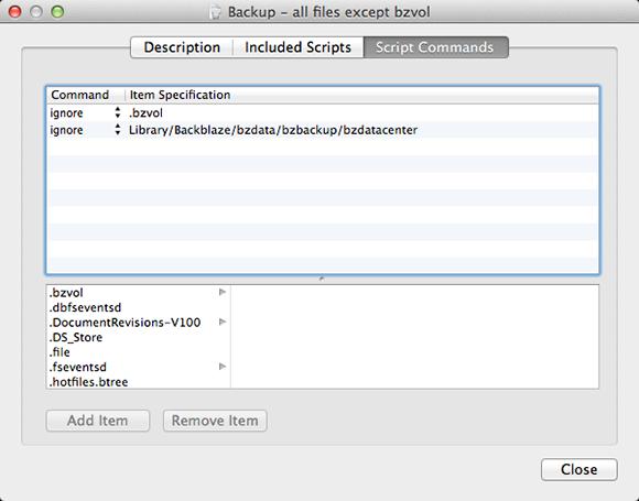 SuperDuper!-Backupskript für Nutzer von Backblaze