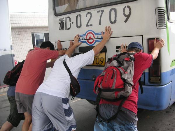 Starten des Autobusses