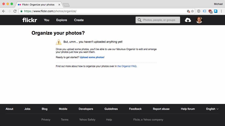 Bye, bye, Flickr! 1