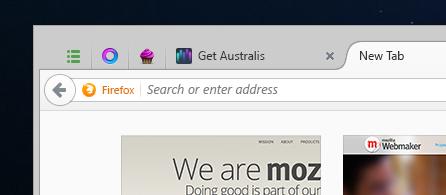 Firefox wird schöner 2