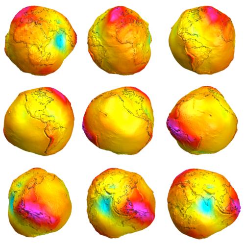 Planet Erde: Ein Geoid