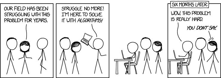 Algorithmen lösen alle Probleme 2