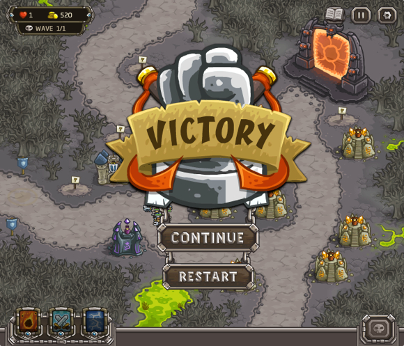 Kingdom Rush: Letztes Level endlich geschafft!