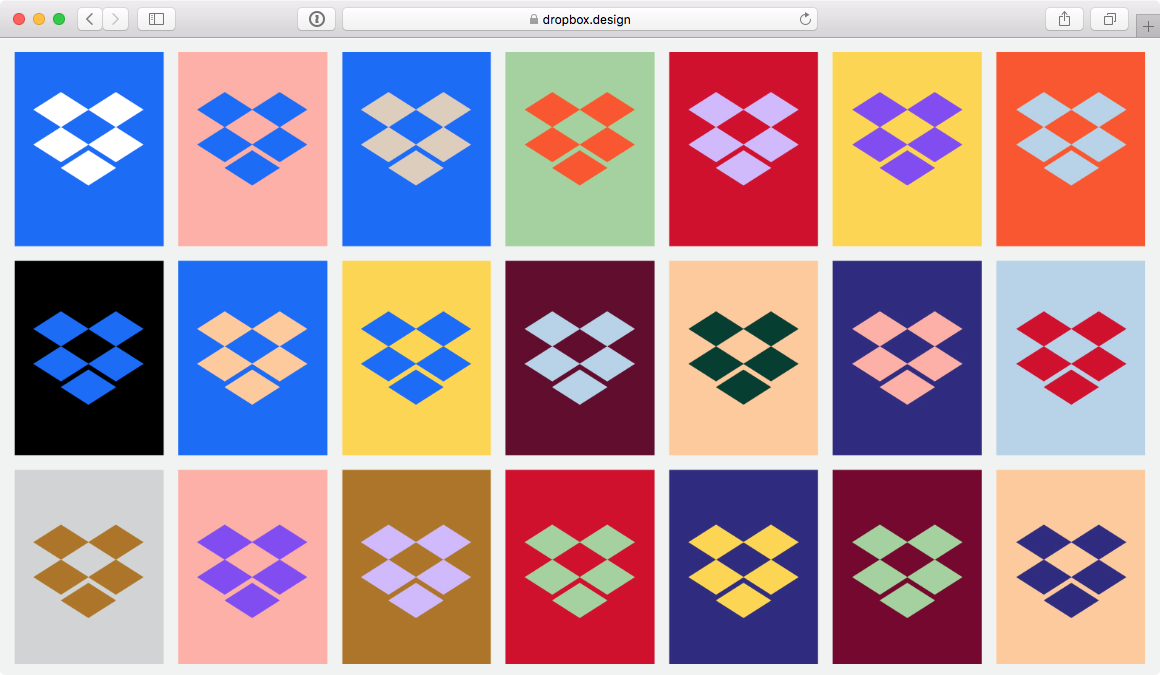 Screenshot Dropbox-Logos
