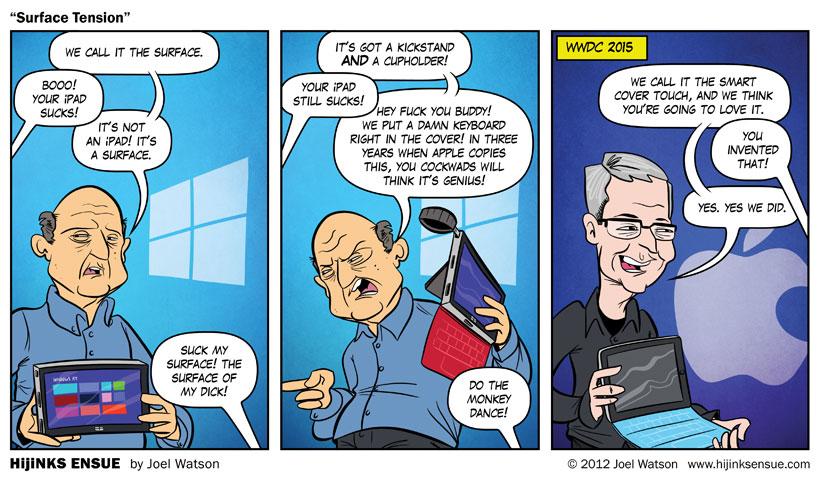 Apple Surface 2