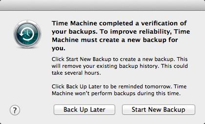 Time Machine zuverlässig? 1